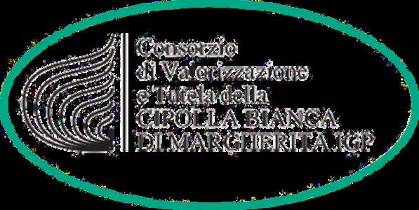 Logo Consorzio di Valorizzazione e Tutela della Cipolla Bianca di Margherita IGP